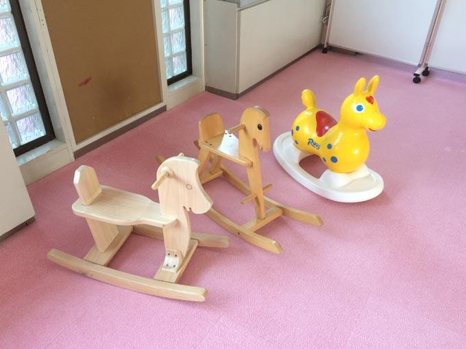 湖西市子育て支援センターのびりんの室内遊具