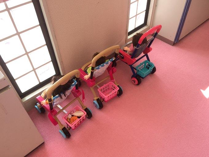湖西市子育て支援センターのびりんの室内おもちゃ