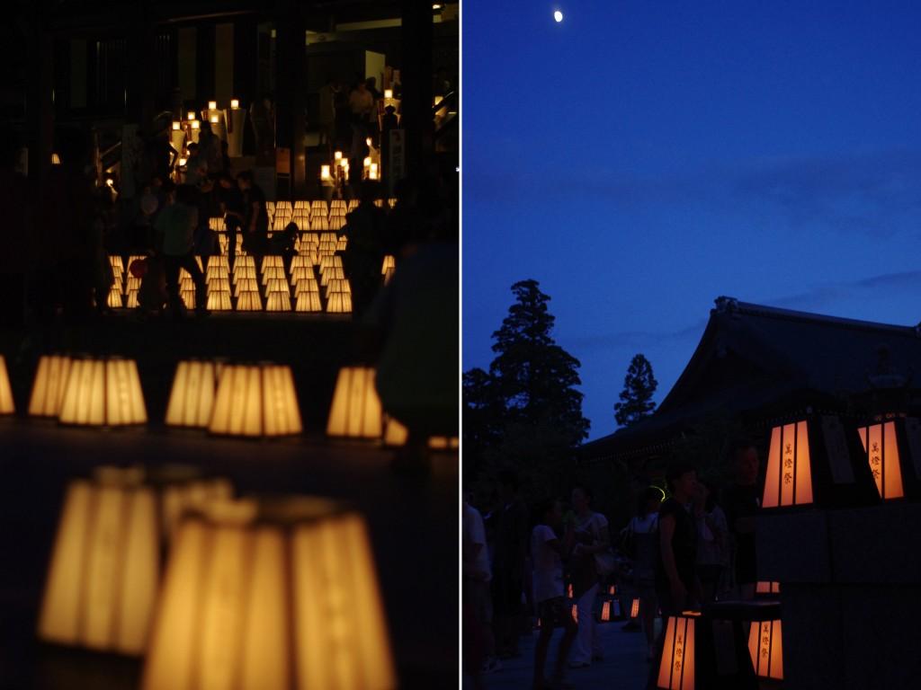 法多山 万灯祭の夜