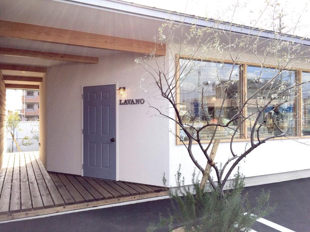 ラヴァーノ高塚店 カフェ側入り口