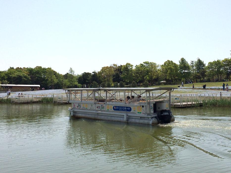 浜名湖ガーデンパークの遊覧船