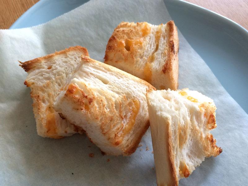 一本堂チーズを焼いてみた