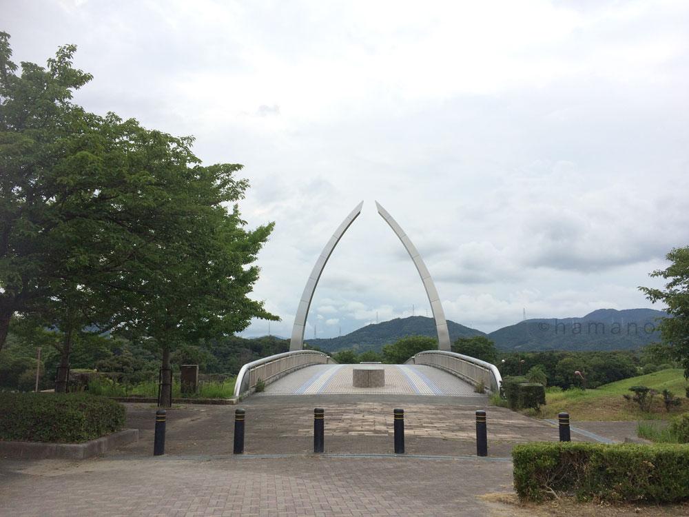 都田総合公園へ行く橋