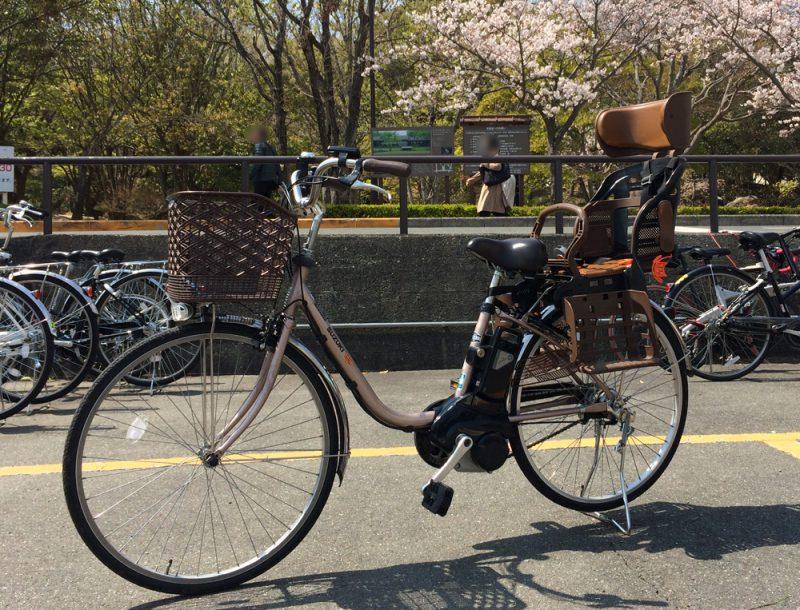 借りた自転車「スズキLOVE」