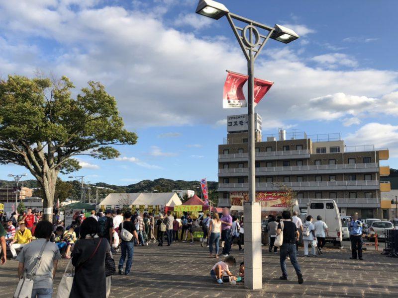 愛野駅前周辺の出店